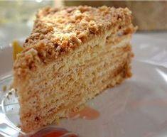 Gâteau millefeuille russe au miel : Recette de Gâteau millefeuille russe au miel - Marmiton