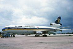 G-BJZD 1 Douglas DC-10-10 British Caledonian Charter MAN 02MAY82