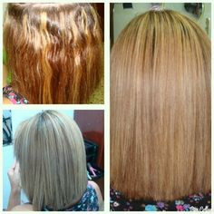 #keratina #blonde #hair #hairstyle