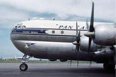 """PanAm B-377 """"Clipper America""""."""