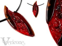 Texture and color variation. Autumn's FlameLeaf by vericone
