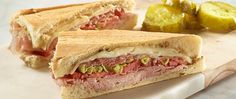 For world travel between two slices of bread, just combine Boar's Head Prosciutto, Baby Swiss Cheese, and Pepperhouse Gourmaise with Pepperoncini Peppers.