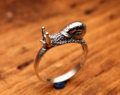 Cute Little Snail Ring