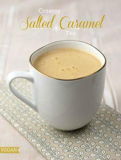 Creamy Salted Caramel Tea - Vegan