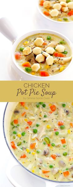 Chicken Pot Pie Soup | Here Are 7 Delicious Dinners To Eat This Week