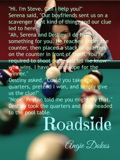 "A new teaser for ""Roadside""."