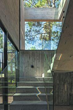 #Escalera #Casa ATV Arquitectos | Foto: Albano García