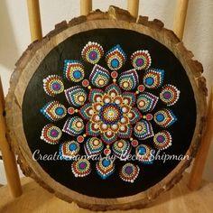 Mandala, mandala wall art, boho art, dot mandala, mandala wall hanging, acrylic wall hanging, home decor, gift, wood art, dot art, gift, her by CreativeKanvas on Etsy