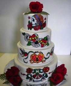 Bad Ass Wedding Cakes