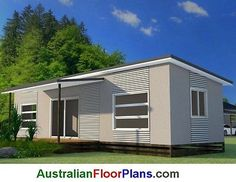 #Transportable home - 2 #bedroom granny flat guest quarters house #plans for sale,  View more on the LINK: 	http://www.zeppy.io/product/gb/2/121622120012/