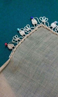Needle Lace, Thread Crochet, Tatting, Needlework, Diy And Crafts, Fancy, Embroidery, Sewing, Silver