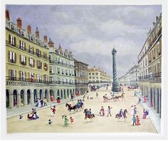 RoGallery Montmarte by Claude Tabet (Lithograph)