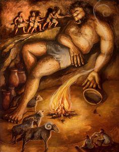 hero who battled polyphemus
