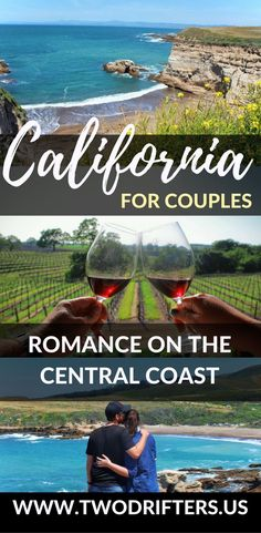North of Los Angeles & south of San Francisco lies the stunning Central Coast of California. These are the most romantic things to do in this lovely region. | Things to do in California | Romantic things to do in California | California travel