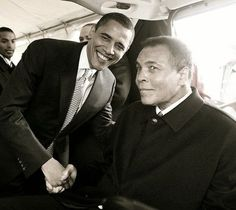 POTUS & G.O.A.T…I Stand With You.