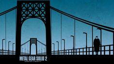 Metal Gear Solid 2 : Sons of Liberty — © Hideo Kojima 2001 — © Konami 2001 Cartoon Wallpaper Hd, Computer Wallpaper, 3d Wallpaper, Metal Gear Solid, Liberty Wallpaper, Metal Gear Rising, Kojima Productions, Roller Coaster Ride, Gaming Wallpapers