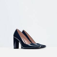 Image 2 of PATENT FINISH HIGH HEEL SHOES from Zara