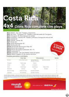 Oferta Costa Rica completa con playa Verano 2015 ultimo minuto - http://zocotours.com/oferta-costa-rica-completa-con-playa-verano-2015-ultimo-minuto-3/