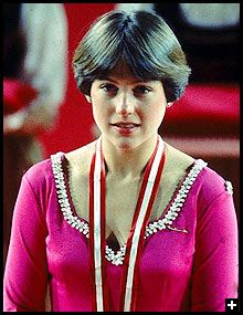 Dorothy Hamill's haircut - I wanted this so badly, but my hairdresser told me I had a cowlick that wouldn't allow it.