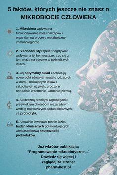 """""""Programowanie mikrobiotyczne"""" czyli kilka faktów, których jeszcze nie znasz na temat mikrobioty. Już wkrótce pełna publikacja na naszej stornie internetowej: www.pharmabest.pl #mikrobiota #zdrowiejelit #probiotyki"""