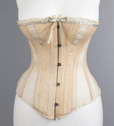 Madame Warren's Corset, c. 1885.  Source: Metropolitan Museum of Art