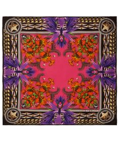 Captivating foulard silk scarf from Givenchy. Shop Givenchy scarves here http://www.liberty.co.uk/fcp/categorylist/designer/givenchy #LibertyScarves