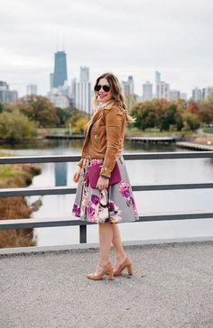 Modest Floral Skirt