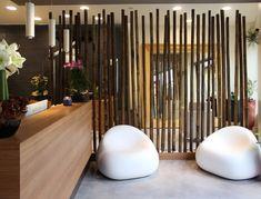 Hairstylist Salon Interior with Bamboo 2
