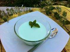 "Panna cotta ""tropical"""