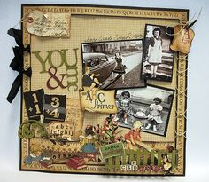 Graphic45, Imaginarium Designs and May Arts by Candy Rosenberg