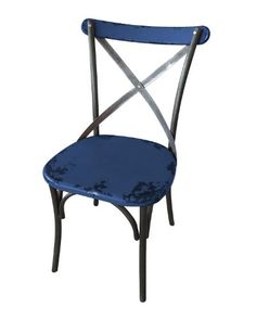 Home Collection Bali Dining Chair - http://www.furniturendecor.com/home-collection-bali-dining-chair-blue-set-of-2/ - Dining Chairs, Dining Room Furniture, Furniture, Home and Kitchen