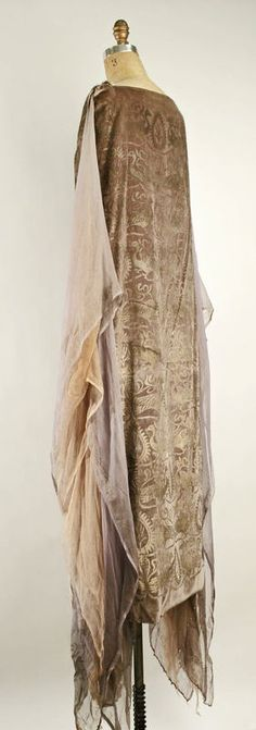 VINTAGE FASHION- Maria Gallenga, dress, 1920s