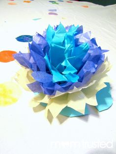 Monet Inspired Waterlilies Project for Kids