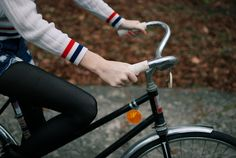 (She was fourteen when she first had a bicycle of her own, and she hadn't ridden one in years. Things were a little wobbly at first, but she didn't let anyone help her. The concept of someone not letting go was too foreign.)