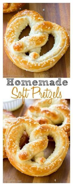 Frugal Food Items - How To Prepare Dinner And Luxuriate In Delightful Meals Without Having Shelling Out A Fortune Homemade Soft Pretzels. So Soft, So Buttery, They're Better Than Any Food Chain I Love Food, Good Food, Yummy Food, Good Snacks, Awesome Food, Homemade Soft Pretzels, Homemade Food, Soft Pretzel Recipes, Easy Pretzel Recipe