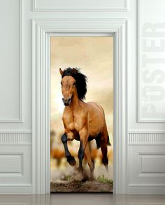 Canvas-Wrapped-Free Spirit (Isaiah x 20 by P Graham Dunn Christian Book Store, Christian Art, Horse Mural, Bedroom Pictures, Bedroom Ideas, Door Murals, Wall Stickers 3d, Horse Riding, Illusions