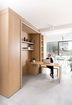 House Tips And Strategies For Modern Home Office Design Office Nook, Home Office Chairs, Home Office Space, Home Office Design, House Design, Design Design, Small Home Offices, Small Apartments, Small Spaces