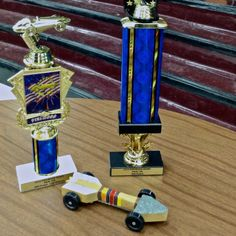Arrow of Light Derby Car! Cubscout's Choice and 3rd overall. WOOOOOO!! #cubcontest