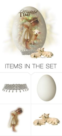 """""""Easter Egg 2015"""" by ragnh-mjos ❤ liked on Polyvore featuring art, Easter, sheep, egg and rag57"""