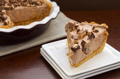Chocolate-Peanut Butter Cup Icebox Pie is a sweet celebration of all things chocolate and peanut butter!