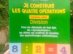 Un cahier adaptés aux enfants dys pour construire le sens de la division Division Posée, Trouble, Montessori, Dyscalculia, Notebook, Learning, Shopping