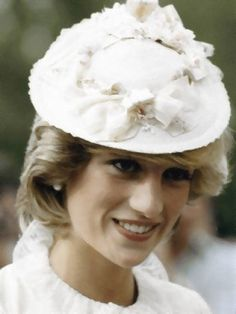 June 29 1983 Diana Princess of Wales and Prince Charles dressed up in Edwardian fashion for a Klondike evening barbeque on at Ford Edmonton in Edmonton, Canada.