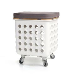 Mobile Storage Stool by Quirky. $70.00. Crate + Seat Cushion + Casters. Amazon.com                          Start with a Crate Bundle, then add accessories to customize a stylish storage system  Quirky Crates is a modular storage system limited only by your imagination. Start with a Crate, then add accessories and connect more crates to customize a stylish storage system perfect for your world. Designed and manufactured in the USA, Crates is an incredibly versatile system that ...