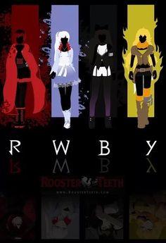 Ruby Rose,Weiss Schnee,Blake Belladonna,Yang Xiao Long