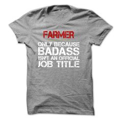 0d826204d9 Cool T-shirts Funny Tshirt for FARMER -