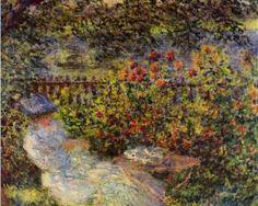 Alice Hoschede In The Garden - Claude Monet, 1881