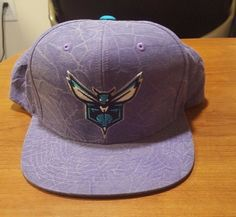 Charlotte Hornets Mitchell and Ness NBA Color Crease Snapback Cap #MitchellNess #CharlotteHornets