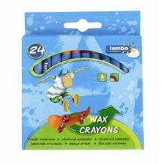 Creioane cerate color 24/set Lambo