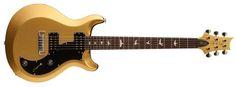 S2 Mira Electric Guitar (Bird Inlay) - Egyptian Gold Metallic - Long & McQuade - Paul Reed Smith