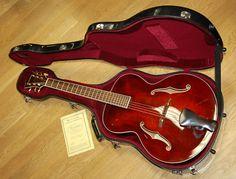 Eastman AR605 Jim Fisch Commemorative Archtop acoustic guitar.
